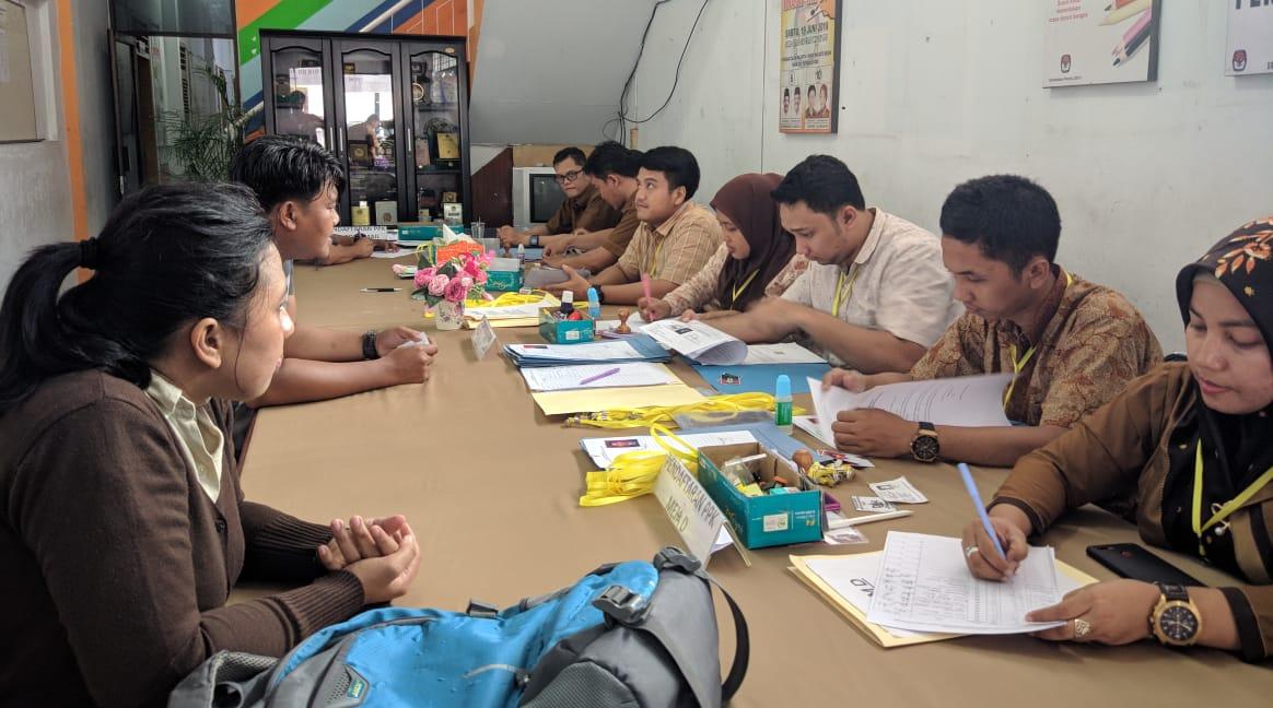 Agussyah R Damanik, Tidak Menjadi Halangan Bagi Penyandang Disabilitas Mendaftar Jadi Calon Anggota PPK Di KPU Kota Medan