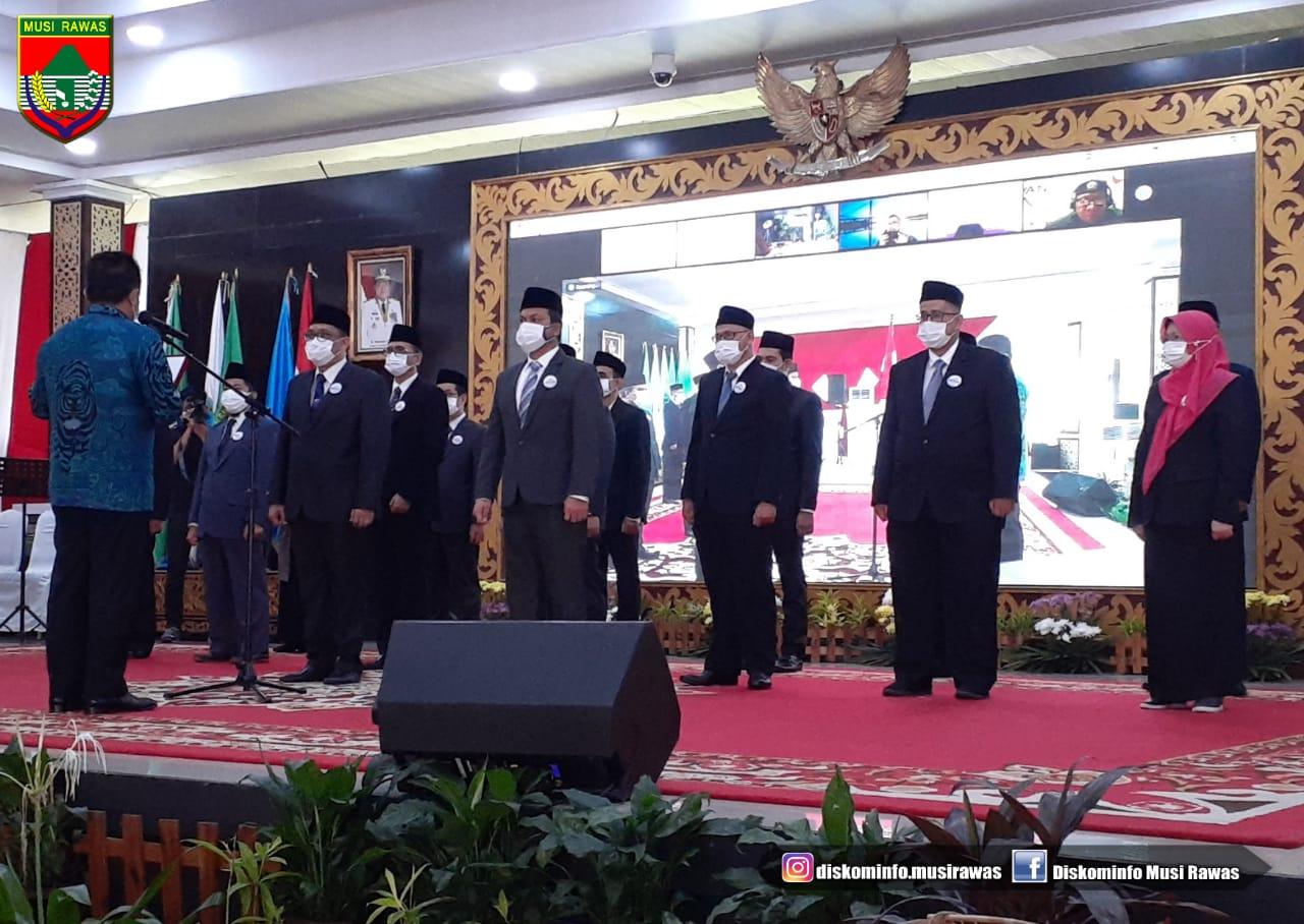 Kadis Kominfo M.Rozak Hadiri Pengukuhan Dewan Teknologi Informasi Dan Komunikasi Daerah