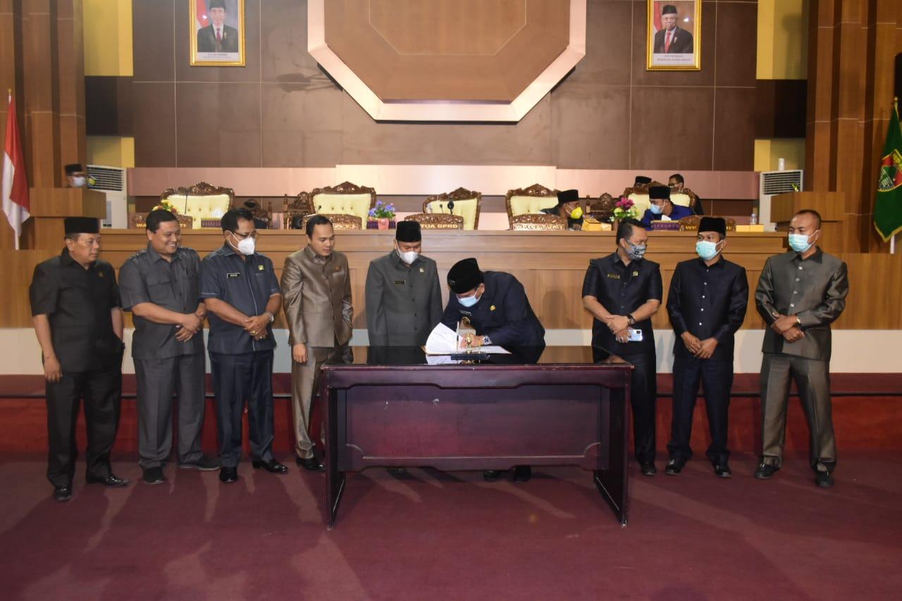 DPRD Mura Menerima Dan Setujui Enam Raperda Pemkab Musi Rawas 2020