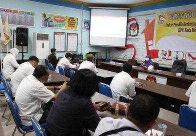 KPU Kota Medan Menggelar Rakor (Rapat Kordinasi (DPB)