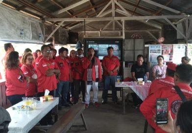 Acara syukuran penyerahan SK Pimpinan Anak Cabang PBB (Pemuda Batak Bersatu) Siantar Marimbun