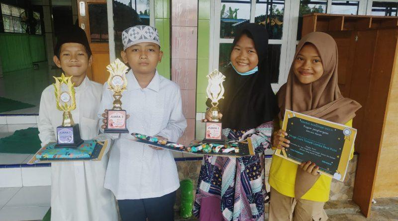 Semarak Ramadhan, TPA Musholla Al Fattaah Borong Empat Penghargaan