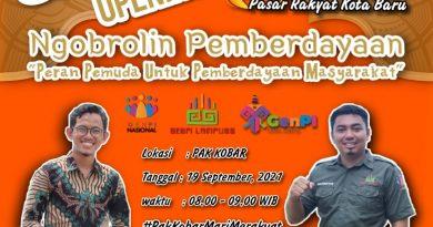 Ketum GenPI Lampung Mengapresiasi Kehadiran Pak Kobar di Bandar Lampung