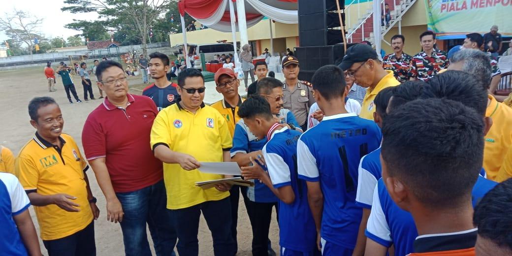 Final Sepak Bola Piala Menpora Liga Berjenjang U-16 Resmi Ditutup